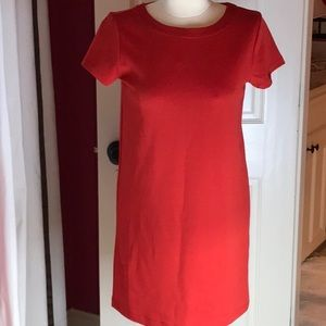 Gap red dress